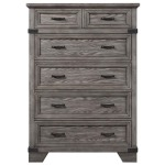 Forge Six Drawer Standard Chest