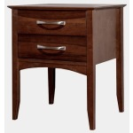 Urban Two Drawer Nightstand