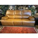 Softee Buckskin Double Power Sofa