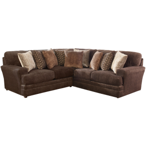 Mammoth Chocolate 2PC Sectional (Right Corner Sofa)