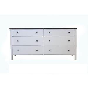 Shoreline 6 Drawer Double Dresser