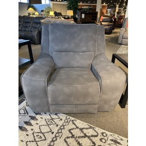 Charcoal Double Power Recliner