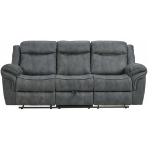 Delgado Power Reclining Sofa - Sorrento Charcoal