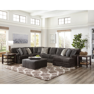 Mammoth Smoke 3PC Sectional (Right Chaise)