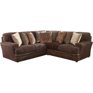 Mammoth Chocolate 2PC Sectional (Left Corner Sofa)