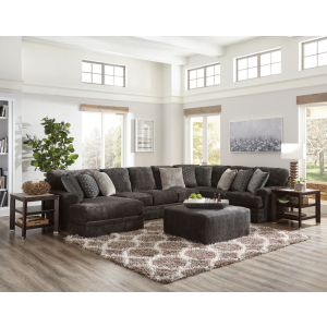 Mammoth Smoke 3PC Sectional (Left Chaise)