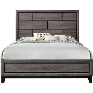 Akerson Queen Panel Bed