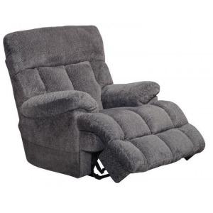 Sterling Power Headrest/Lumbar Power Lay Flat Recliner w/Heat & Massage