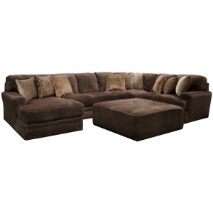 Mammoth Chocolate 3PC Sectional (Left Chaise)