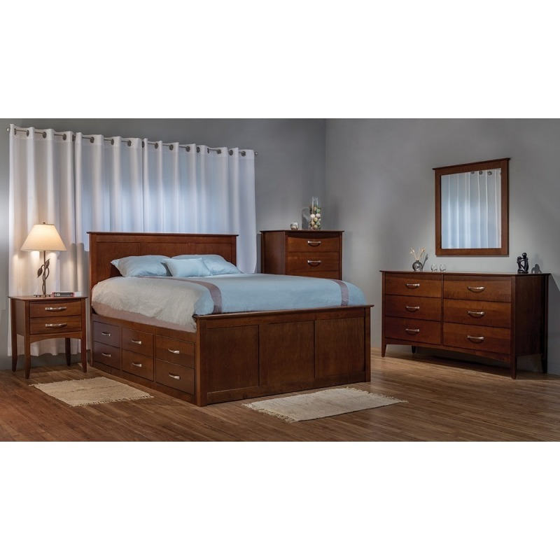 Urban King Captian's Panel Bed