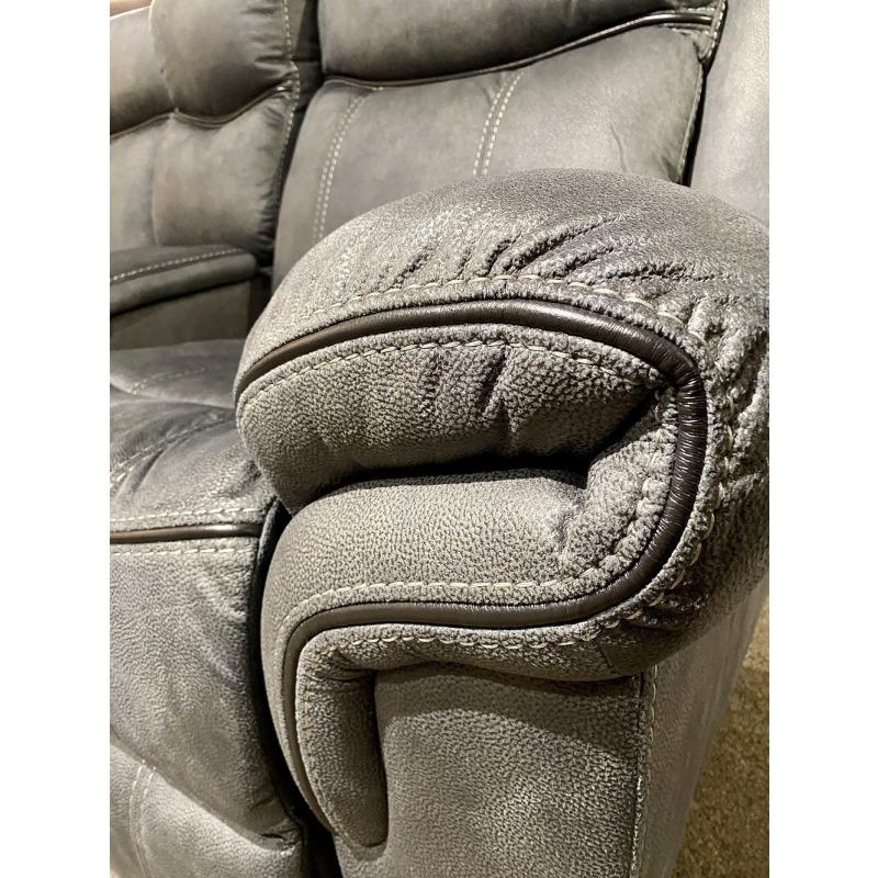Delgado Power Reclining Sofa - Sorrento Charcoal