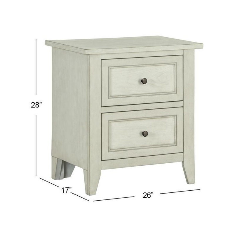 Raelynn Drawer Nightstand (no touch lighting cont