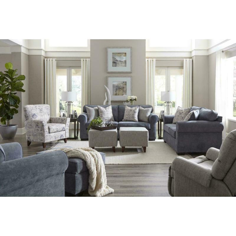 Slate Sofa - Blue