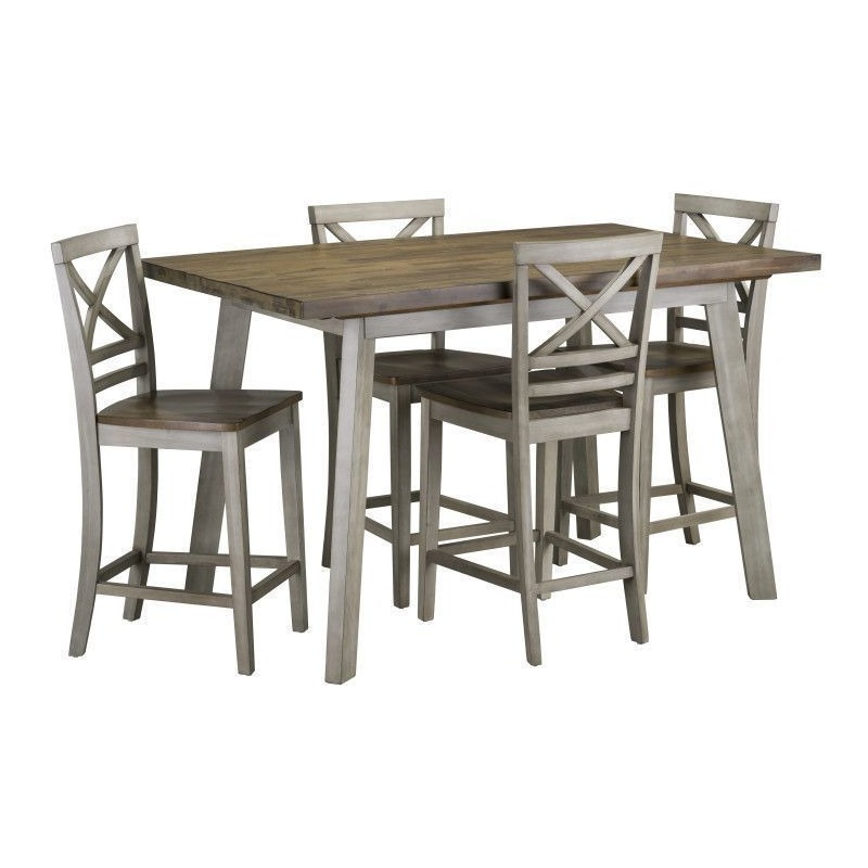 Fairhaven Counter Height Table & 4 Chairs Set
