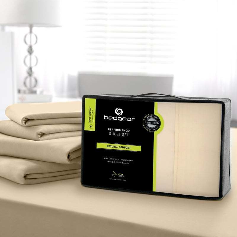 Hyper-Cotton Performance Sheet Set,Champagne-Quee