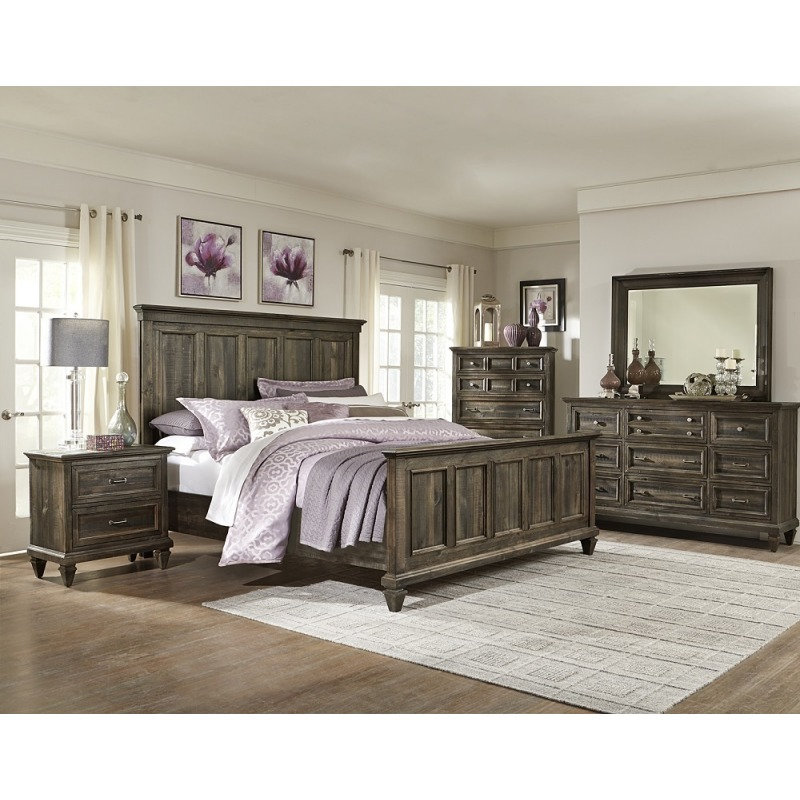 Calistoga Complete Queen Panel Bed