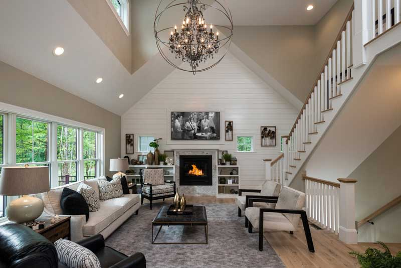 Living room designed