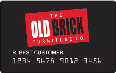 example of a Old Brick credit card