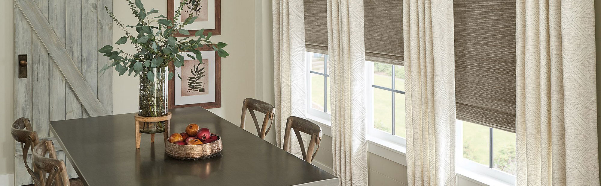 Window Treatments in Kitchen