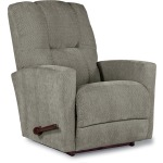 Casey Rocking Recliner in Aluminum