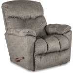 Morrison Rocking Recliner in Silver