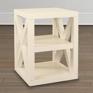 AXIS WHITE END TABLE