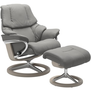 Reno Medium Signature Chair w/Footstool