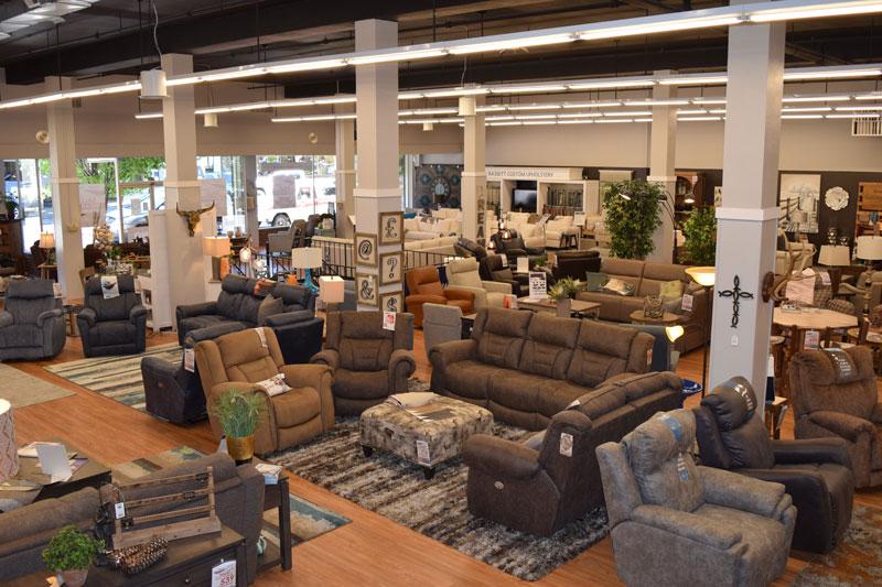 Store main floor
