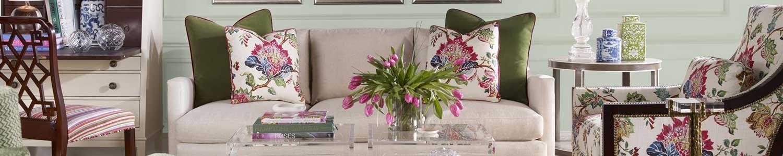 Century Furniture Gracie Sofa in Room