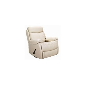 Leather Swivel Glider Recliner