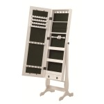 Cheval Mirror/ Jewelry Armoire