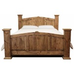 King Solid Pine Bed