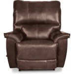 La-Z-Boy Leather Power Wall Recliner w/ Headrest & Lumbar