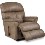 La-Z-Boy Leather Rocker Recliner