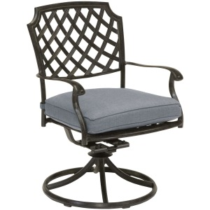 Madison Outdoor Swivel Dining Chair