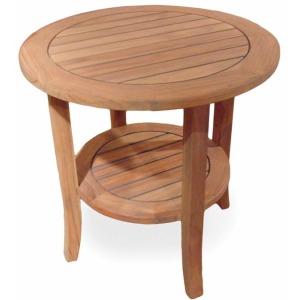 Outdoor Teak End Table