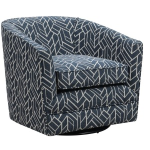 Trilogy Swivel Chair - Navy