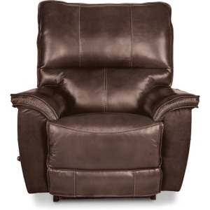 La-Z-Boy Leather Power Wall Recliner w/ Headrest & Lumbar