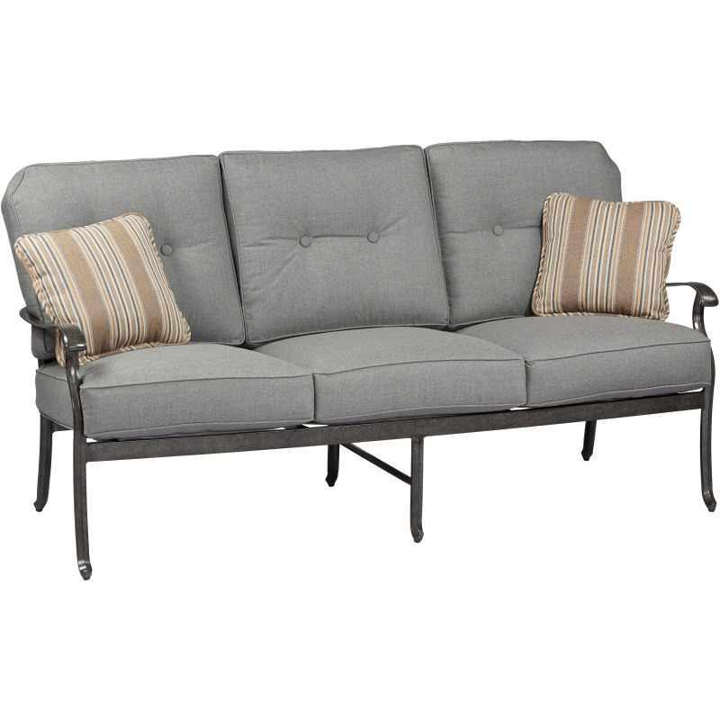 Madison Sofa with Cushion and 2 Throw Pillows