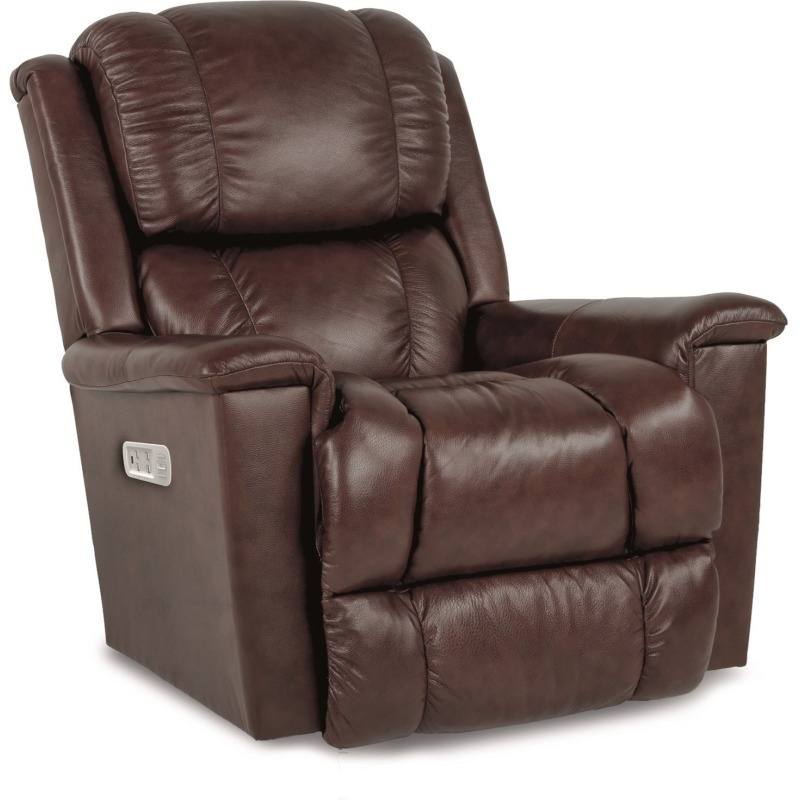 Stratus Power Rocking Recliner w/ Headrest and Lu