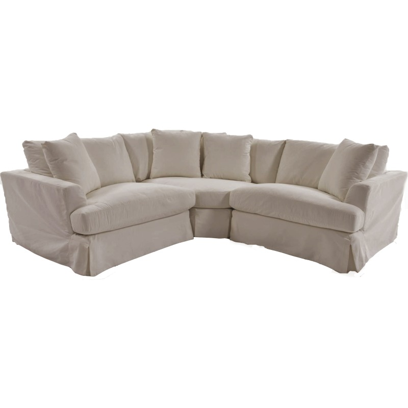 3 Piece Slipcover Sectional