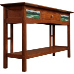 2019 Collector Edition Console Table - Cherry