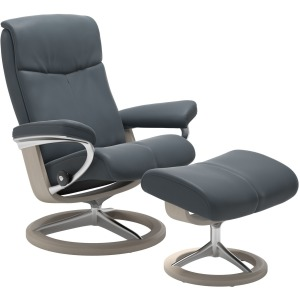 Peace Signature Chair w/Ottoman - Small
