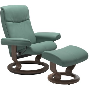 Peace Classic Chair w/Ottoman - Small