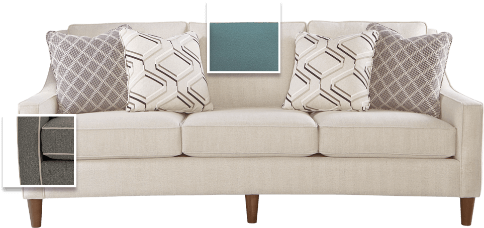 Sofa with options