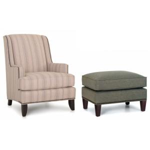 Stationary Chair & Ottoman