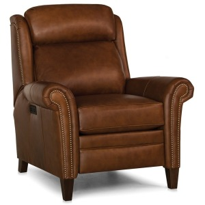 Leather Motorized Reclining Chair w/ Headrest
