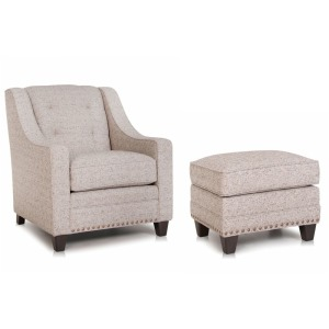 Stationary Chair & Ottoman