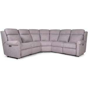 3 PC Power Reclining Sectional w/Headrest