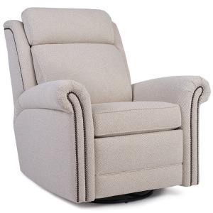Motorized Swivel Glider Reclining Chair  w/Headrest